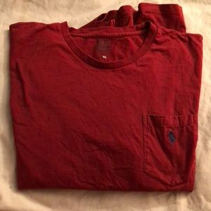 POLO RED LONG SLEEVE T SHIRT - PRE LOVED